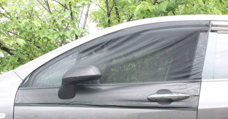 【車中泊グッズ】車のドアに被せる蚊帳ネットで窓を網戸化【蚊対策&暑さ対策】